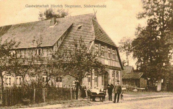 Süderwalsede: Gastwirtschaft Hinrich Stegmann