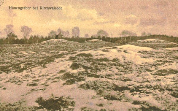 Hünengräber bei Kirchwalsede